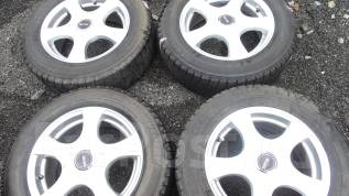 Продам комплект зимних шин на литых дисках 195/65R15 (90). 6.0x15 5x100.00, 5x114.30 ET45 ЦО 73,0мм.