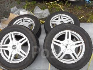 Продам колёса на хорошей зимней резине 195/65R15. 6.0x15 5x100.00, 5x114.30 ET50 ЦО 73,0мм.