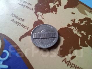 США. 5 центов 1989 года. Монетный двор P.