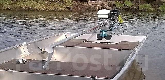 мотор весло для лодки своими руками