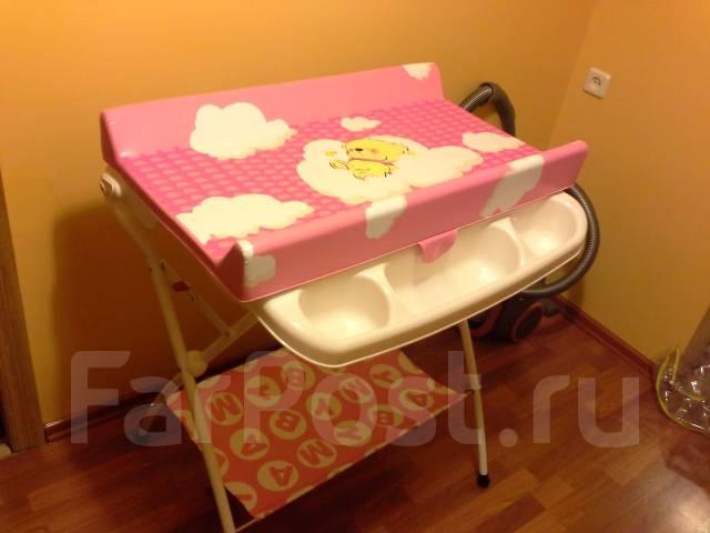Пеленальный столик из стола
