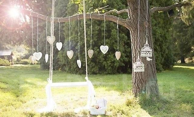Декорации для свадьбы своими руками фото