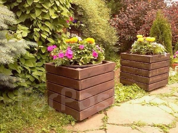 Ящики уличные для цветов