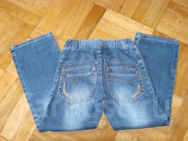 Синие джинсы с ч рныи верхом