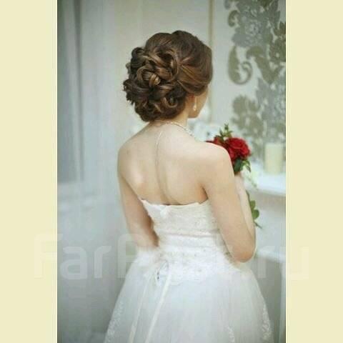 Свадебные причёски с мелированием