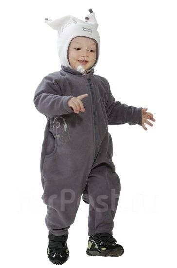 Комбинезон из флиса для ребенка своими руками