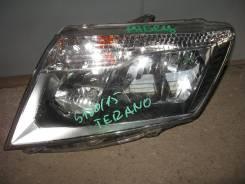 Фара. Nissan Terrano
