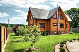 Проект дома из газобетона 7-180П. 300-400 кв. м., 2 этажа, 7 комнат, бетон