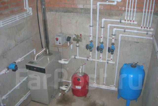 Монтаж отопления из полипропилена в частном доме