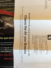 Фильтр салона. Audi A4 Audi A6