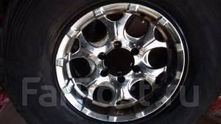 Продам недорого колёса Dunlop Grandtrek 285/75R16 LT литье с полками. x16 6x139.70 ET0