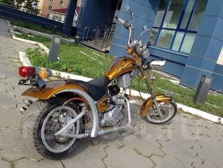 Harley-Davidson. 125 куб. см., исправен, без птс, с пробегом