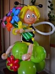 Фигуры и подарки из воздушных шаров. Под заказ