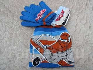 Шапка и перчатки. Рост: 86-98 см