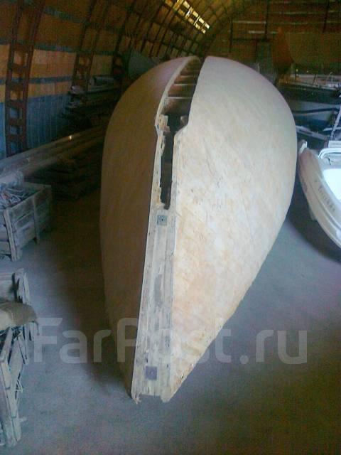 Корпус деревянной яхты - Парусные яхты в Евпатории