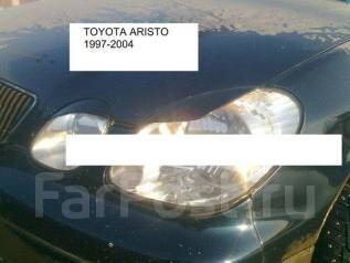 Накладка на фару. Toyota Aristo