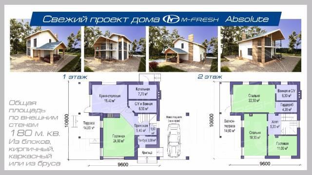 А, давайте, посмотрим какой можно спроектировать Вам дом! Подскажем!