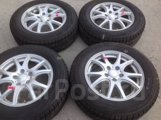 205/65 R 16 Bridgestone Revo GZ литые диски 5х114.3 R16 (к2-16022). 6.5x16 5x114.30 ET53