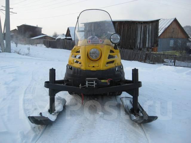 Как сделать на буране две лыжи