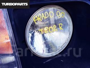 Фара. Toyota Land Cruiser Prado, FTV, VZJ95W, VZJ90W, KDJ95W, KZJ90, KDJ90W, RZJ95W, KZJ90W, RZJ90W, KZJ95W Двигатели: 3RZFE, 5VZFE, 1KZTE, 1KDFTV