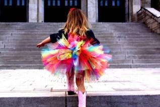 Воздушная юбка на заказ!
