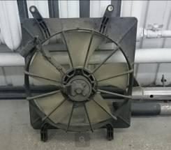 Вентилятор радиатора кондиционера. Honda Stream, RN1, RN4, RN5, RN2, RN3, RN8, RN9, RN6, RN7