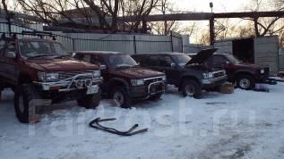 Болт маховика. Toyota Hilux Surf, LN130G, LN130W Двигатели: 2LT, 2LTE