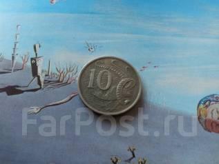 Австралия. 10 центов 1967 года.