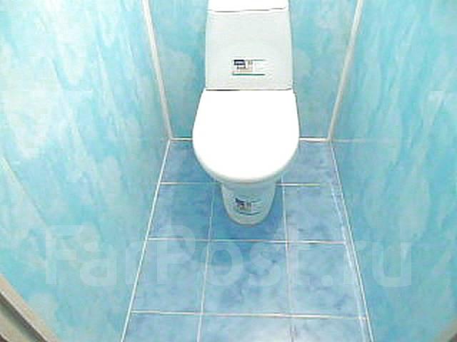 Туалет дизайн пластиковыми панелями