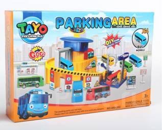 Маленький автобус Тайо - Маленькая парковка