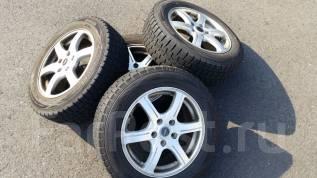 Комплект колес ЗИМА 205/60/R16 2014год Dunlop. 6.5x16 5x114.30 ET54