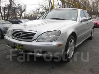 Mercedes-Benz. W220, 5 0L V8 24V MPFI SOHC