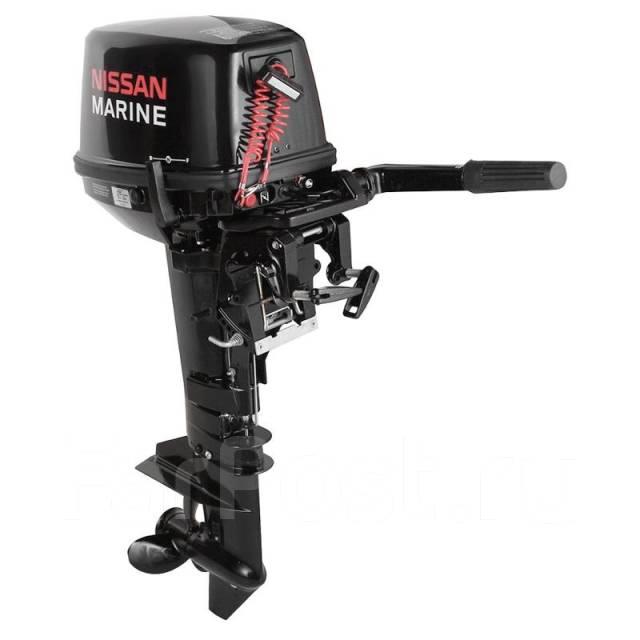 nissan marine9,8. 2 х тактный лодочный мотор