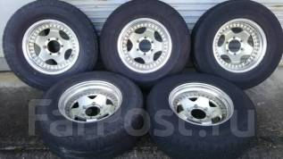 5 шт! Отличные Bridgestone H/L 265/70/16 на ковке Berg -13/8/16. 8.0x16 6x139.70 ET-13