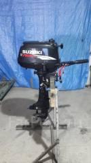 Suzuki. 5,00л.с., 4х тактный, бензин, нога S (381 мм), Год: 2009 год