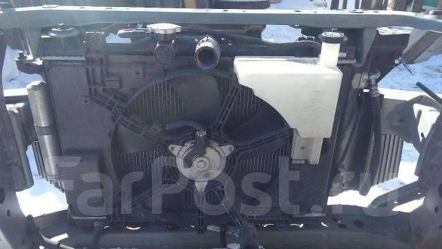 Радиатор охлаждения двигателя. Nissan Tiida Latio, SC11 Двигатель HR15DE