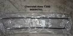 Молдинг решетки радиатора. Chevrolet Aveo, T300