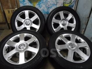 Продам Стильные колёса под Чёр. Хром Nissan Elgrand+Лето 215/60R17. 6.5x17 5x114.30 ET45