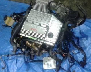 Двигатель. Toyota Harrier, MCU15 Двигатель 1MZFE. Под заказ