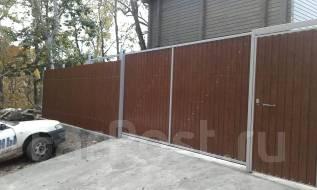 Изготавливаем заборы ворота откатные и распашные.