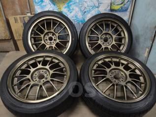 Продам Крутую Лёгкую Ковку Volk Racing SE37+Лето215/45R17Toyota, Subaru. 7.5x17 5x100.00 ET48
