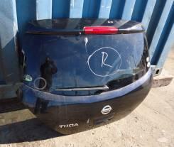 Дверь багажника. Nissan Tiida, C11 Двигатель HR15DE