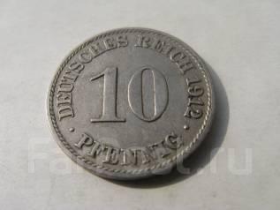 10 пфеннигов. Германия 1912 г.