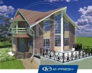 M-fresh Amsterdam! -зеркальный. 100-200 кв. м., 1 этаж, 5 комнат, каркас
