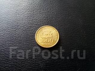Вьетнам. 1 000 донг 2003 года. Последний выпуск монет!
