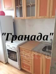 1-комнатная, улица Терешковой 15. Чуркин, агентство, 36 кв.м. Кухня