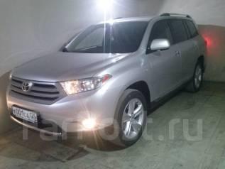 Toyota Highlander. вариатор, 4wd, 3.5 (268 л.с.), бензин, 50 тыс. км