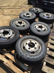Комплект грузовой Toyo delvix 195/75r15LT 6шт. +запаска! На дисках dyna. 5.0x15 x197.00х5