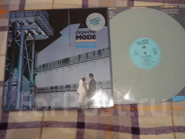 ДИПИ ШМОТ / Depeche Mode - Some Great Reward - 1984 DE LP серый винил
