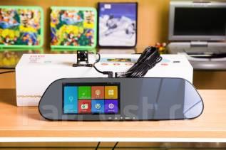 Зеркало-Видеорегистратор. Android 5.0. GPS/WI-FI/2 Камеры. Модель 2016!